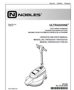 Part manuals for Nobles Ultrashine