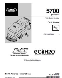 Parts Manual For Tennant Walkbehind - Tennant 5680 wiring diagram