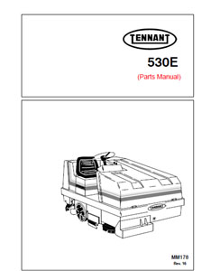 tennant 530e part manual