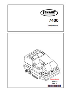 tennant 7400 part manual