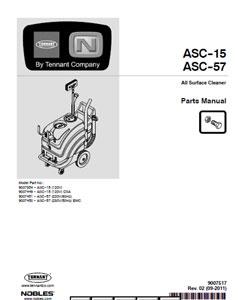 tennant nobles ss5 parts manual