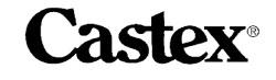 castex equipment parts and manuals