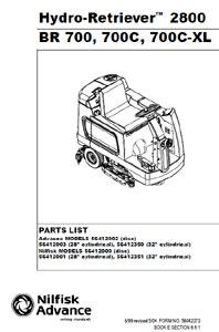 part manuals for advance hydro retriever rh floor equipment parts com nilfisk advance cs7000 service manual nilfisk advance 2042 manual