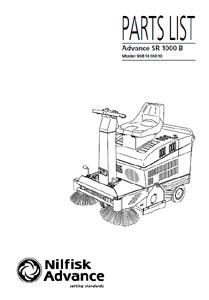 part manuals for advance sr rh floor equipment parts com nilfisk advance sc750 manual nilfisk advance sc750 manual