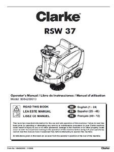 Clarke RSW 37