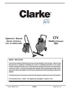 Clarke CTV 120V