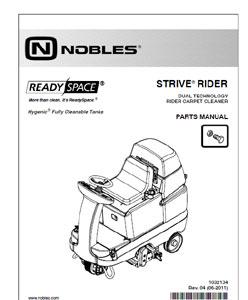 Floor scrubber & sweeper parts & user manuals.