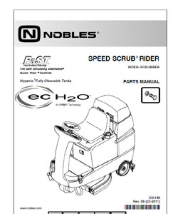 Nobles speed scrub 1701 plus manuals.