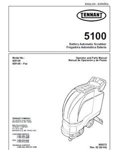 Tennant 5100 manuals.