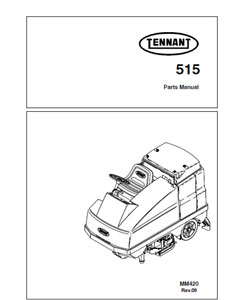 tennant 515 part manual