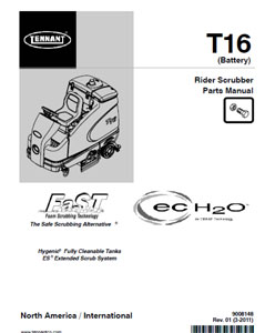 tennant t16 part manual