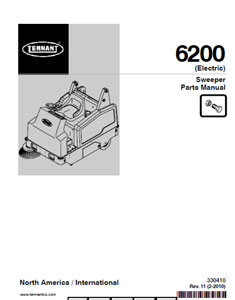 tennant 6200 part manual