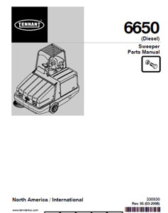 tennant 6500 part manual