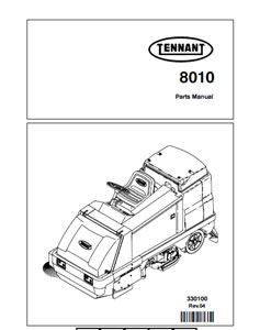 tennant 8010 part manual