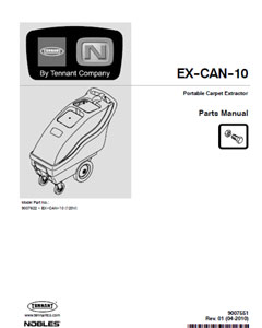 ex-can-10 part manual