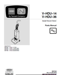 v-hdu-14/36 part manual